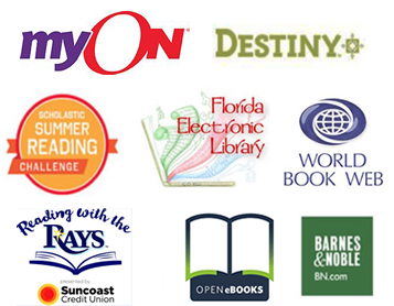 summer reading icons