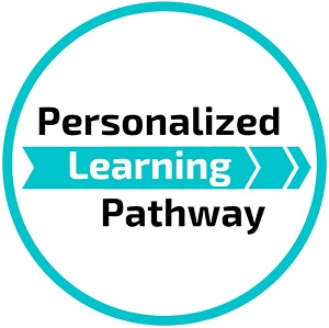 Personalized Learning Pathway button