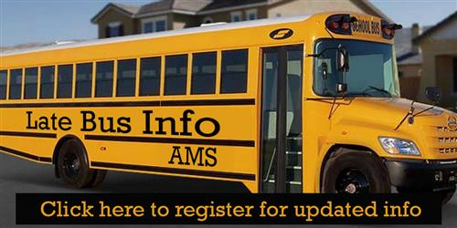 Register for late bus info
