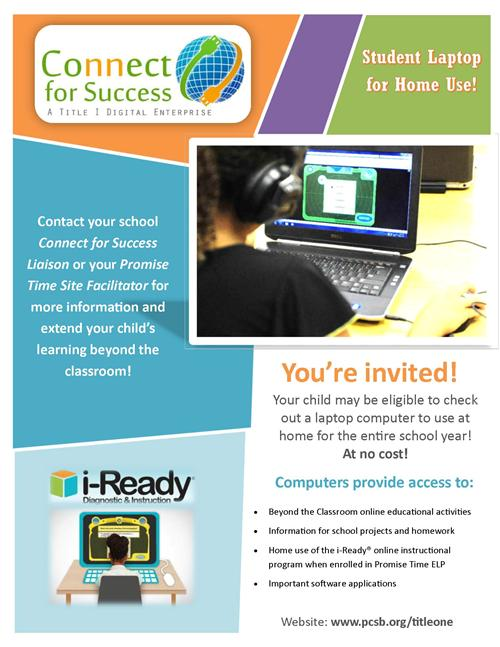 Connect for Success Take Home Laptops