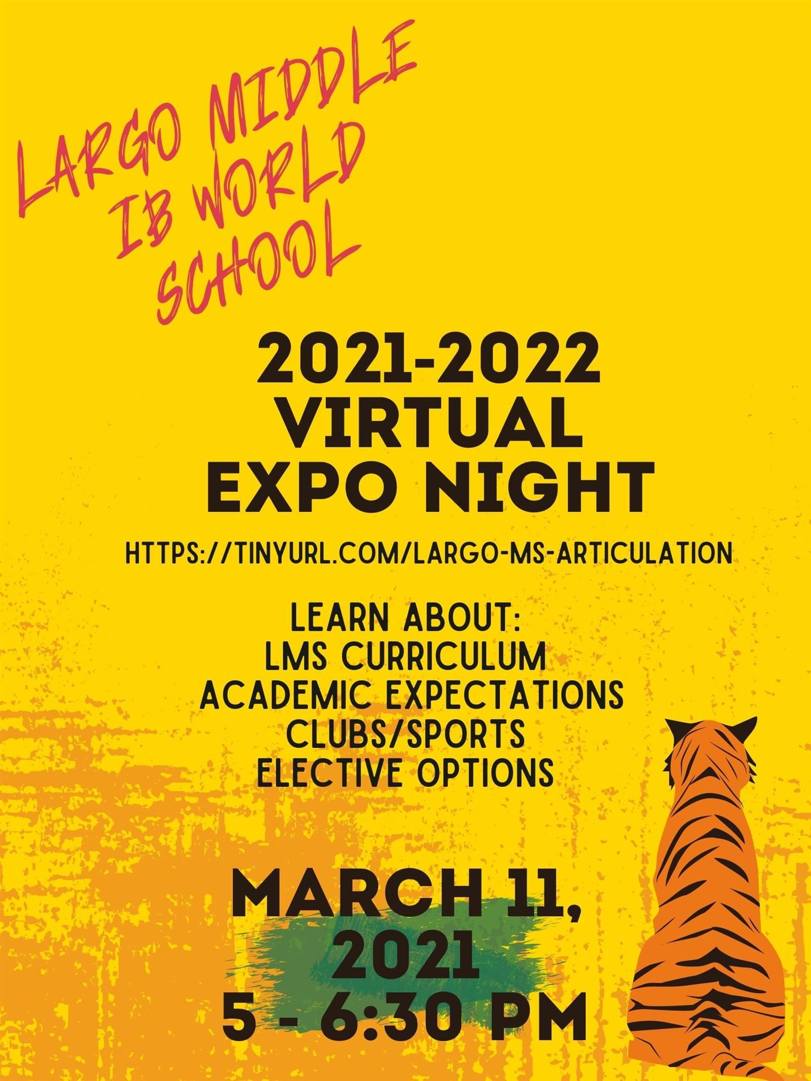 Virtual Expo Night