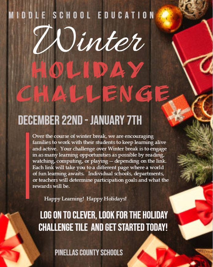 Winter Holiday Challenge