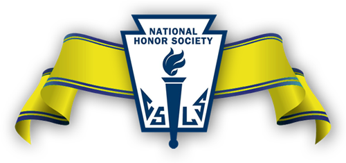 National Honor Society banner