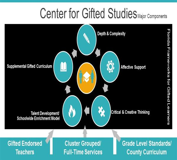 Center for Gifted Students graphic