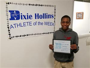 Elan Fountain-Athlete of the Week!
