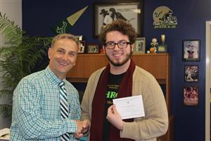 Sam Pontello--Commended Student