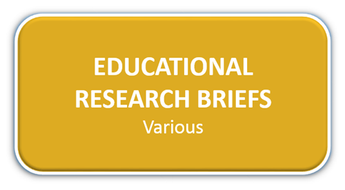 Educational Research Briefs