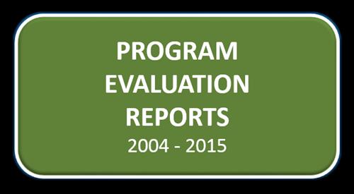 Program Evaluation Reports